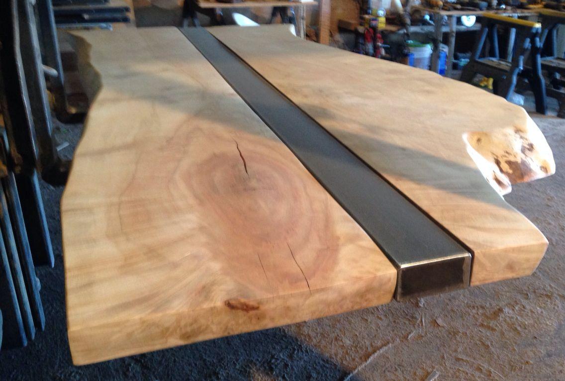 Live Edge Wood Slab Table Top Wood Slab Table Wood Slab Table