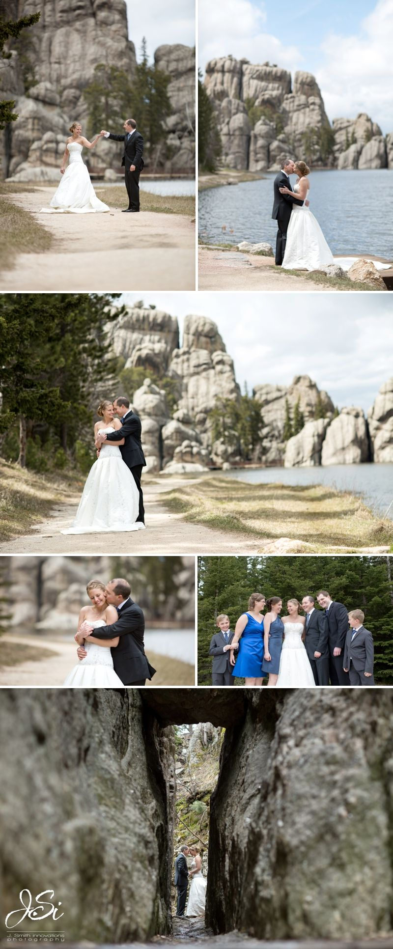 Sylvan Lake South Dakota Wedding Black Hills Bride And Groom Portraits Www Jsmithinnovations