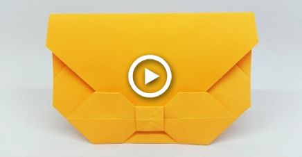 Photo of DIY: Easy Origami Envelope Tutorial – Ideen für Papierumschläge