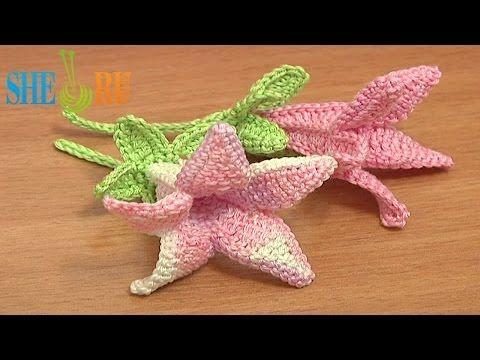 Canterbury Bell Flower Crochet Pattern Tutorial 71 Part 1 Of 2 Free