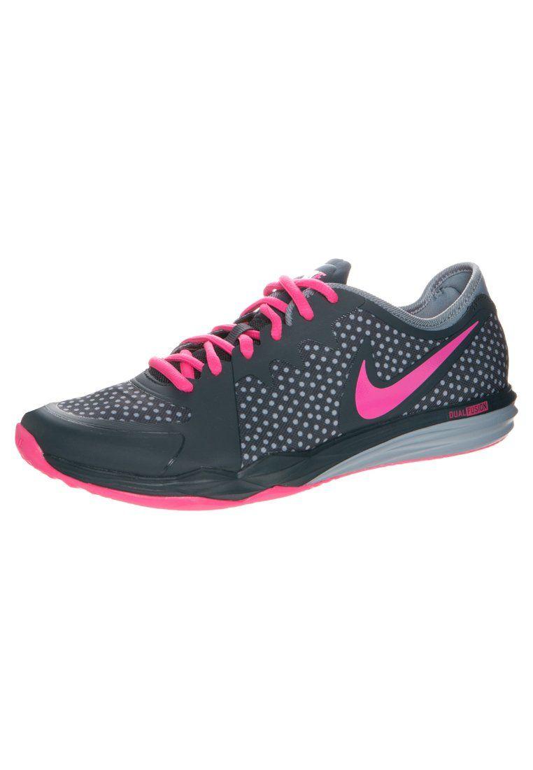 wholesale dealer a7268 36ce1 Nike Performance DUAL FUSION TR 3 Zapatillas classic charcoal pink  pow grey. Nike Performance DUAL FUSION TR 3 Zapatillas classic  charcoal pink pow grey ...
