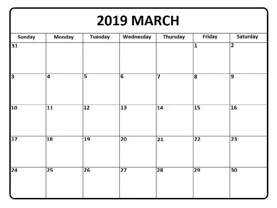 march 2019 south africa calendar