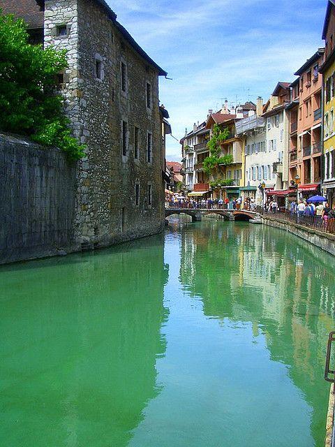 Annecy, Haute-Savoie - in the Rhône-Alpes region
