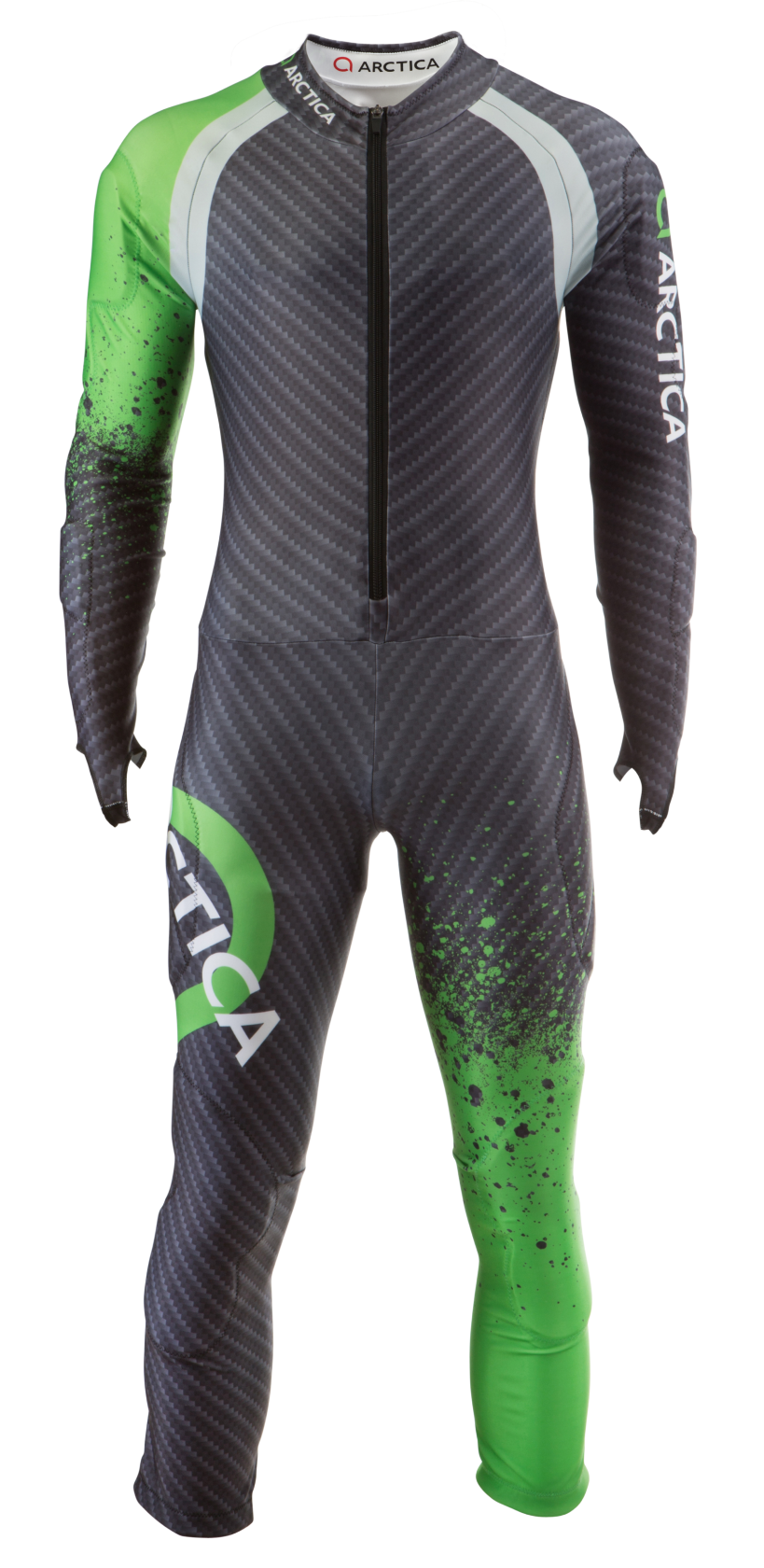 Arctica Cup GS Speed Suit Green. High quality. Good looking. FIS approved. $300 adult/$250 youth.