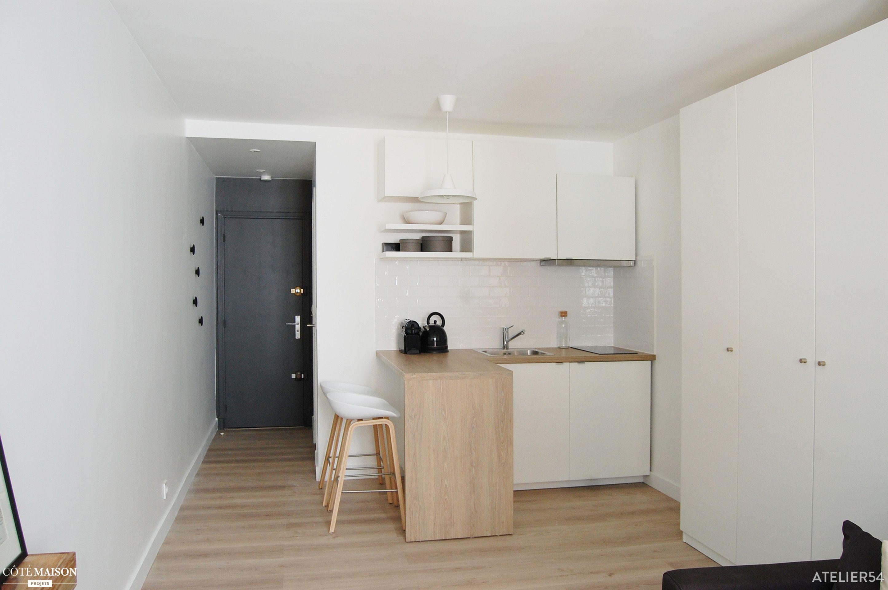 R novation compl te d 39 un studio et d coration paris Formation decoration interieur paris