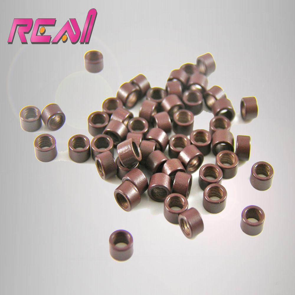 5000pcs Aluminiumscrew Micro Beadslinksringstubesbells For