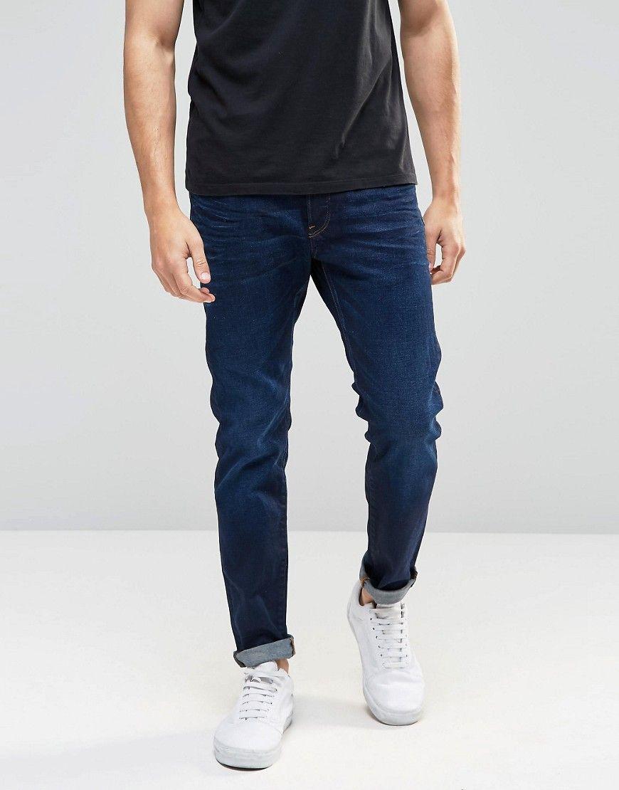 Black G-Star Men/'s 3301 Slim Jeans