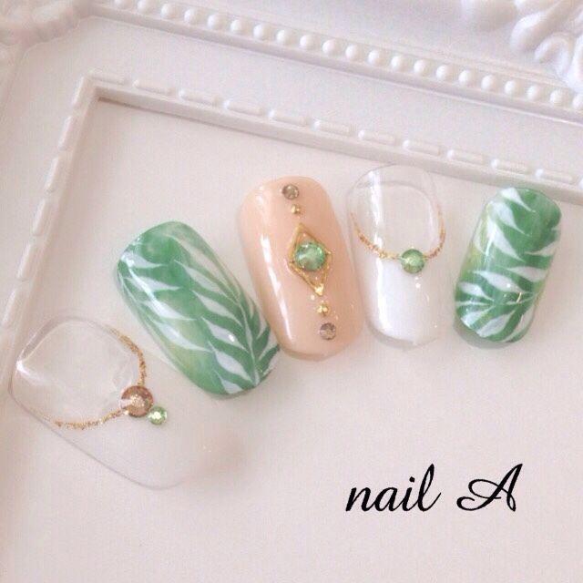 ネイルデザイン・ネイルアートを探す ネイルブック   Japanese nail art ...