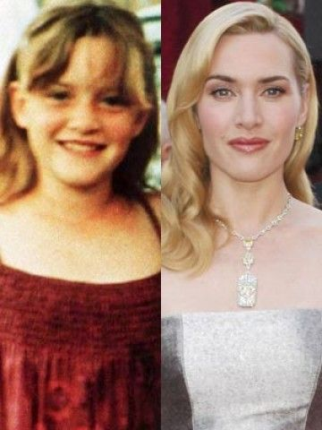 New Pictures Celebrities As Children Kate Winslet Young Celebrities Celebrities