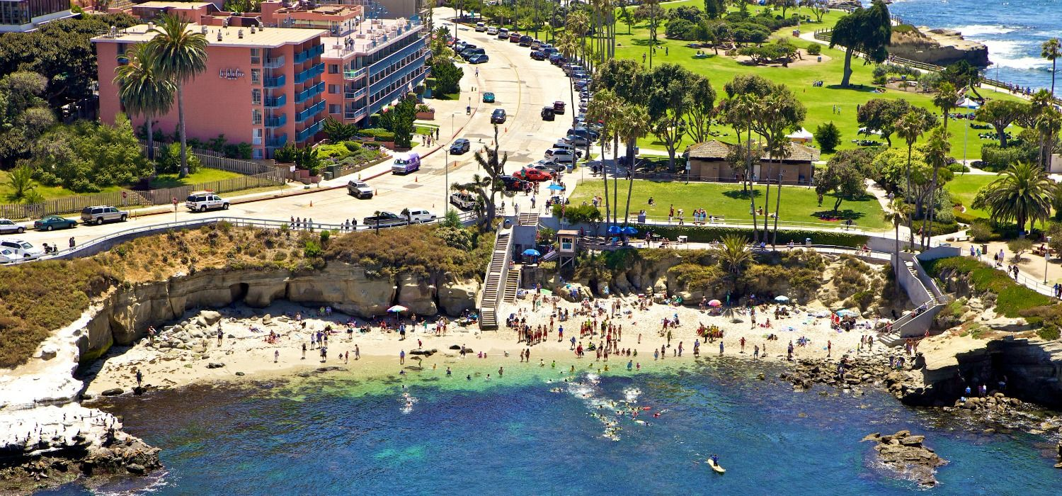 With Direct Access To One Of The Best Beaches In La Jolla Cove Hotel Suites Offers Ocean View Rooms Vacation Als Rooftop