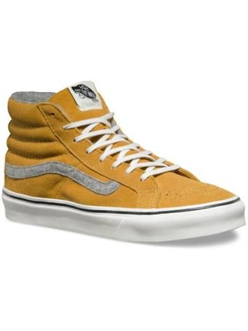 mustard vans old skool