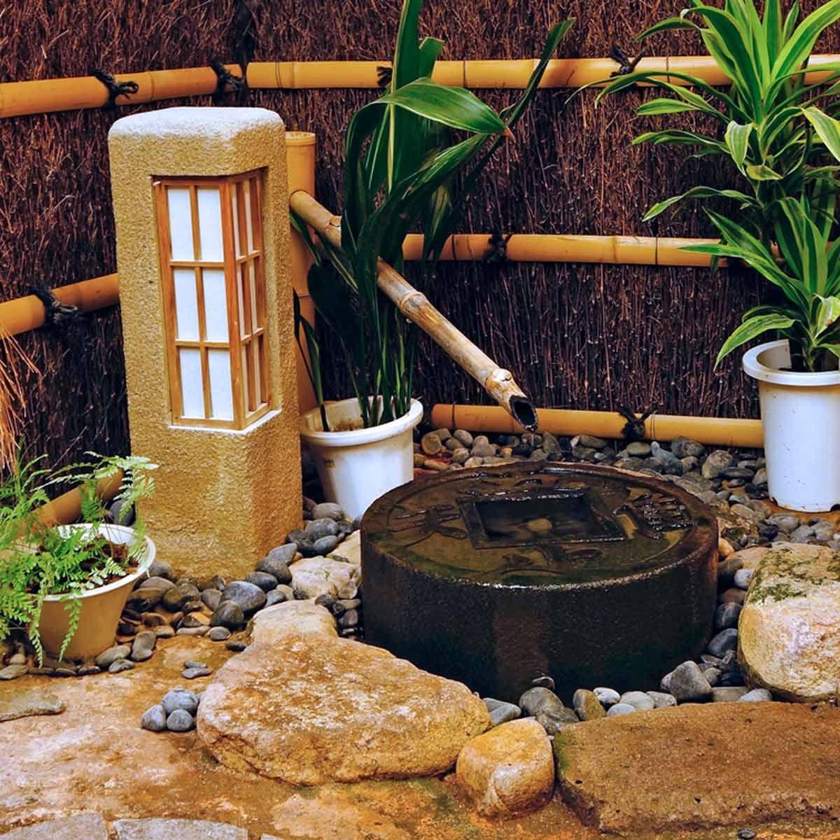 11 Zen Water Feature Ideas for Indoors in 2020 | Indoor ...
