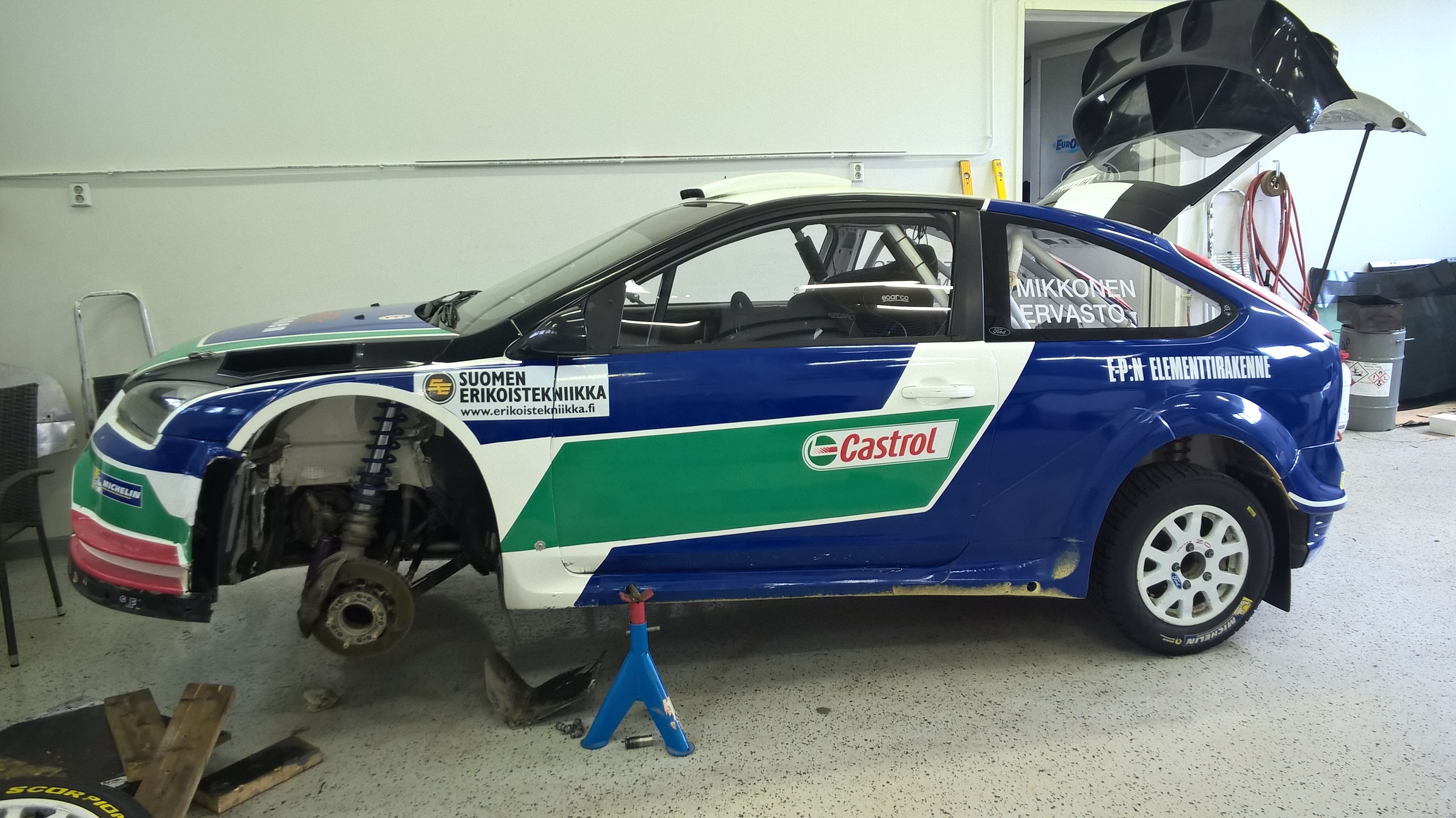 Jarmo mikkonen wrc 09 ford focus rally pinterest ford focus and ford