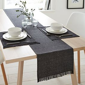 Tablecloths Table Linen Plastic Tablecloths Dunelm Dining Table Runners Dining Table Black Table Cloth