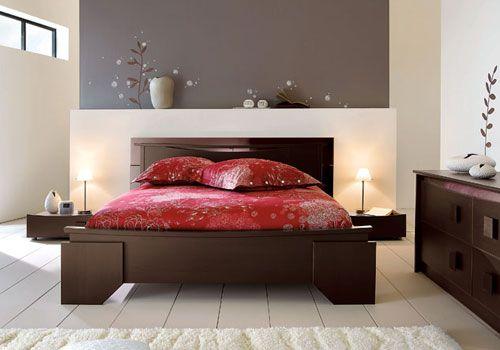 Cuisine Moderne Images Architectural Digest :  decoration chambre couleur de  Exemple De Peinture Chambre A Coucher