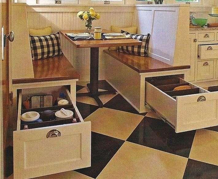 Arredare una cucina 3x3 | Design cucine, Panche da cucina e ...