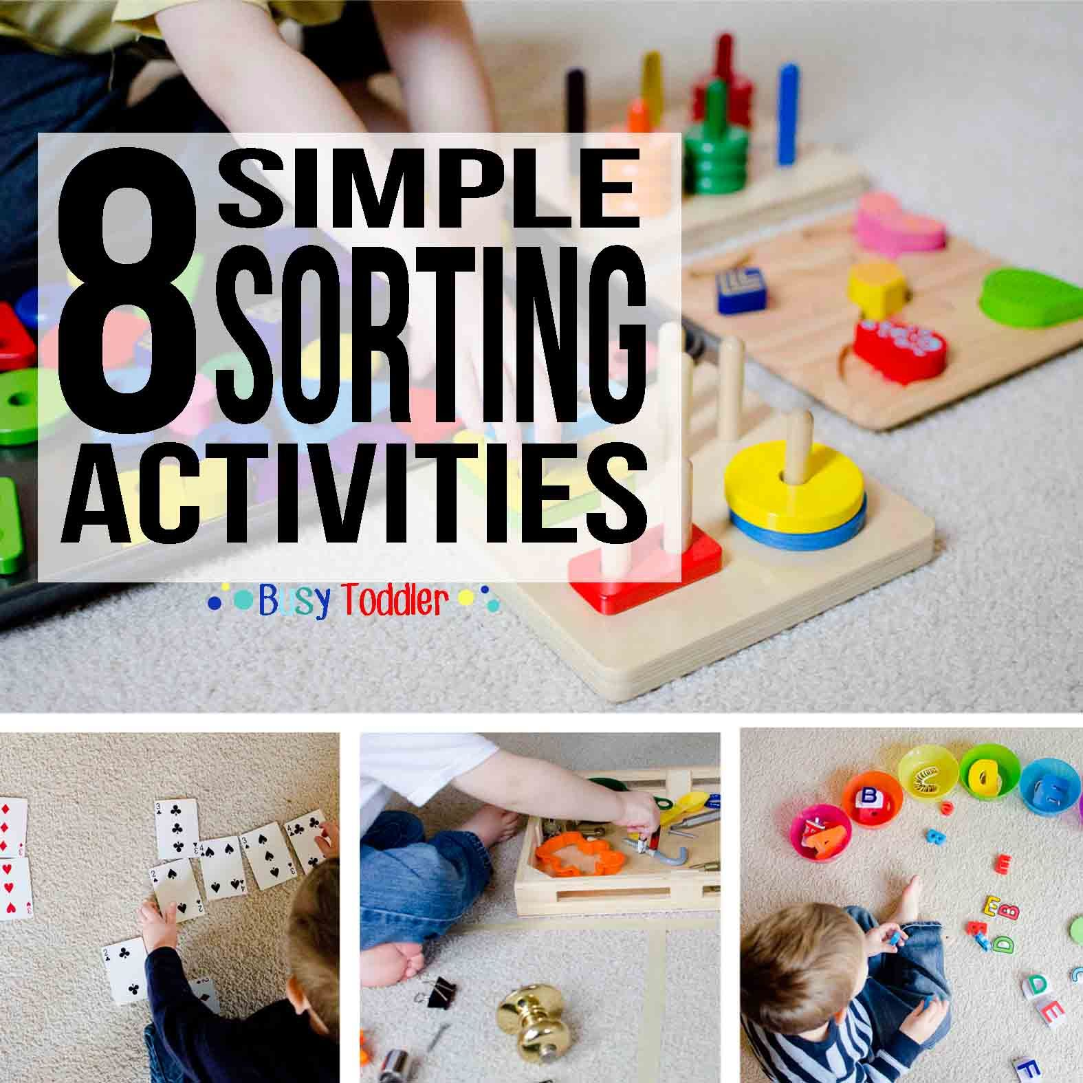 Photo of 8 Simple Sorting Activities for Toddlers – Busy Toddler
