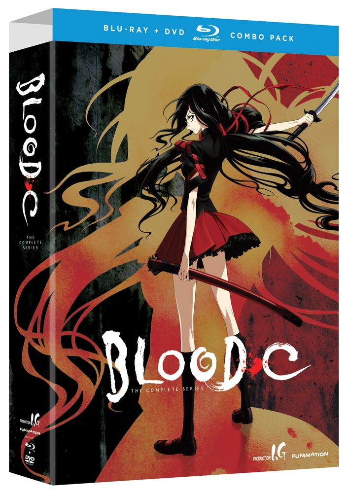 BloodC DVD/Bluray Complete Series (Hyb) Limited Edition