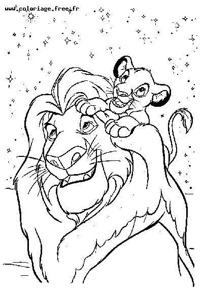 Coloring Pages © Lion King | Disney\'s Lion King Coloring Sheets ...
