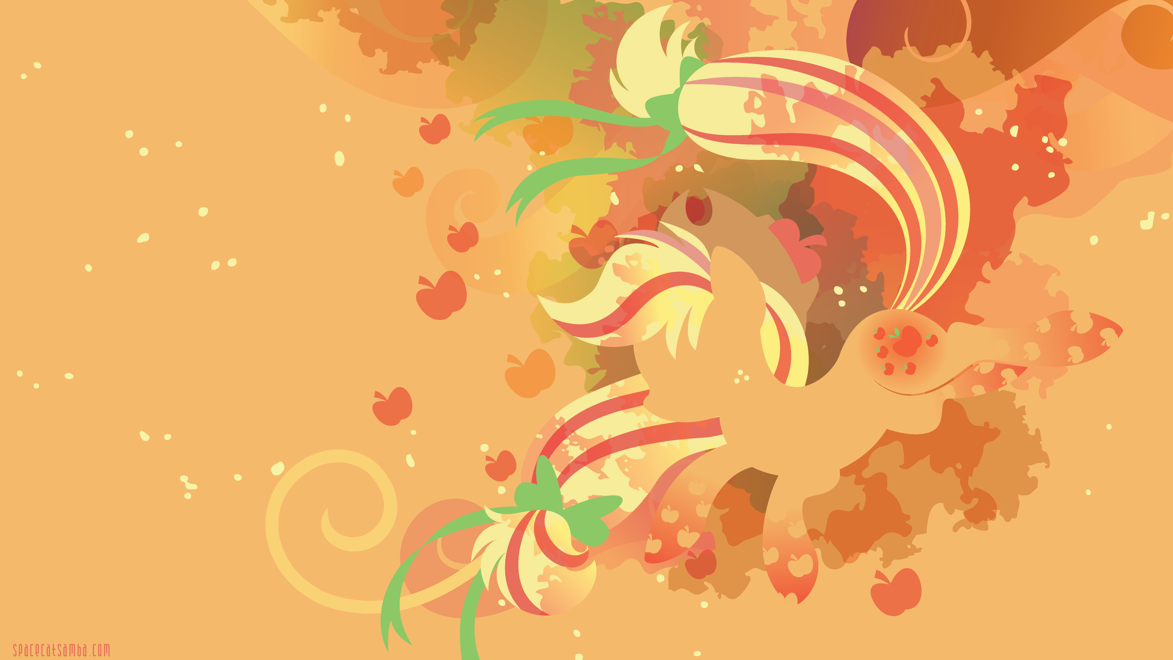 Applejack Rainbow Power With Images My Little Pony Wallpaper