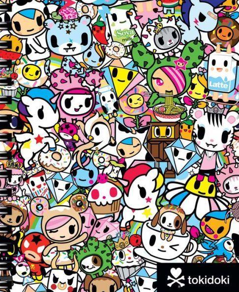 tokidoki Multi Characters Spiral Sketchbook