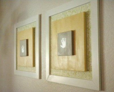 Handprint Art: Great Craft to Turn into Real Wall Art   For Kids ...