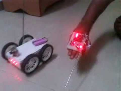 Accelerometer Based Robot Avr Tutorial Projects Pinterest
