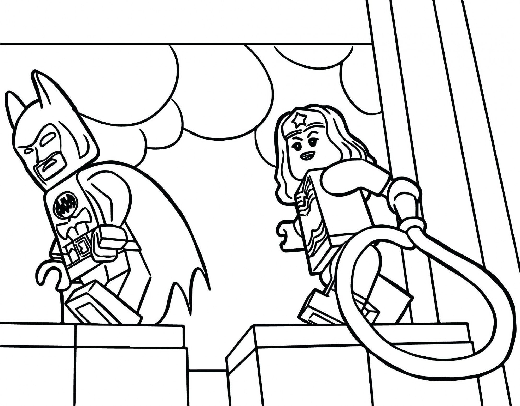 Wonder Woman Coloring Pages Lovely Girl Lego Coloring Pages In