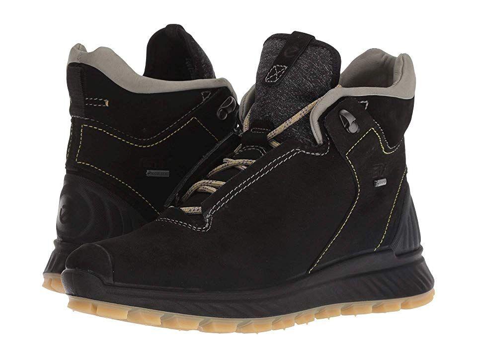 68fe2259b ECCO Sport Exostrike GORE-TEX(r) High Women's Shoes Black/Wild Dove ...