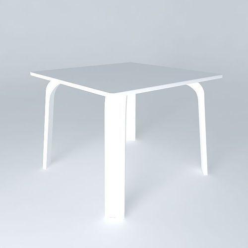 table dex q small 3d model max obj 3ds fbx stl dae 1