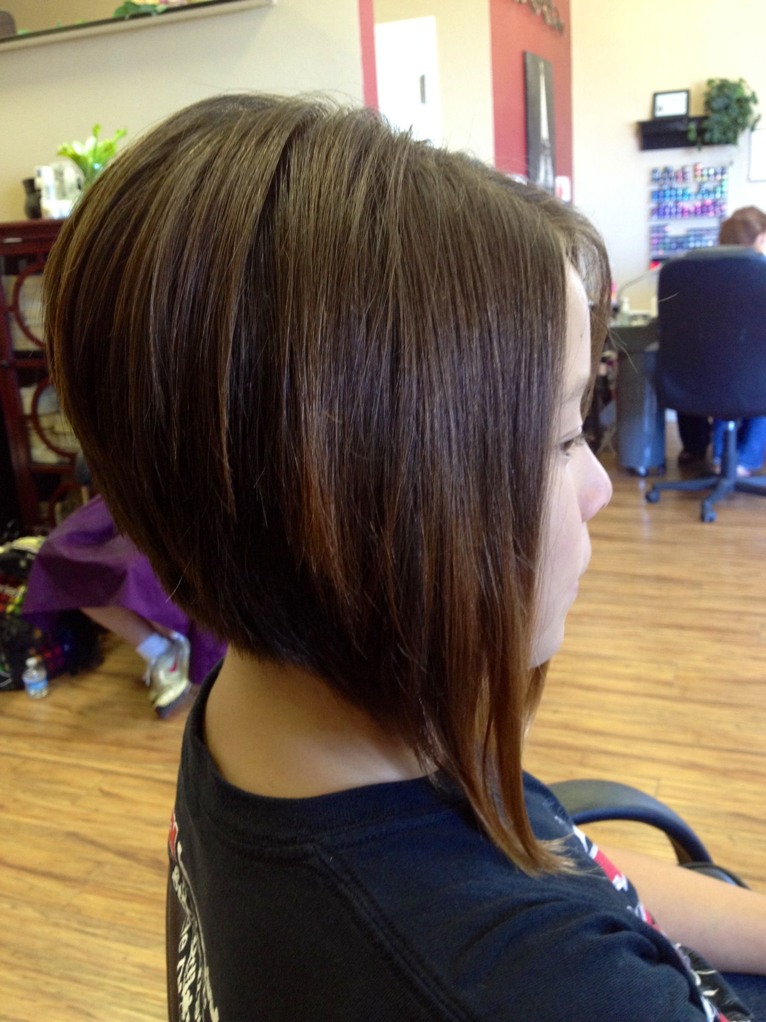 a line haircut- thinking about this for my next haircut | hair