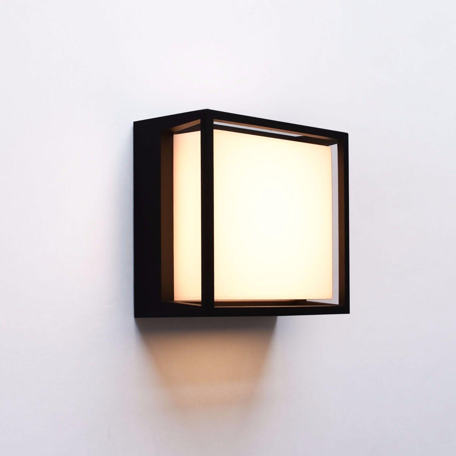 Maxkomfort Led Außenleuchte Wandleuchte Außenlampe Schwarz
