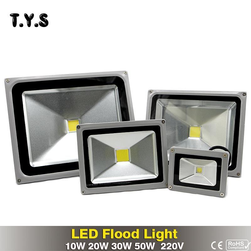 Waterproof Floodlight Outdoor Led Projector 50w 30w 20w 10w