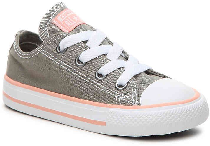 CONVERSE All Star Seasonal Ox Infant Girls Trainer Periwinkle