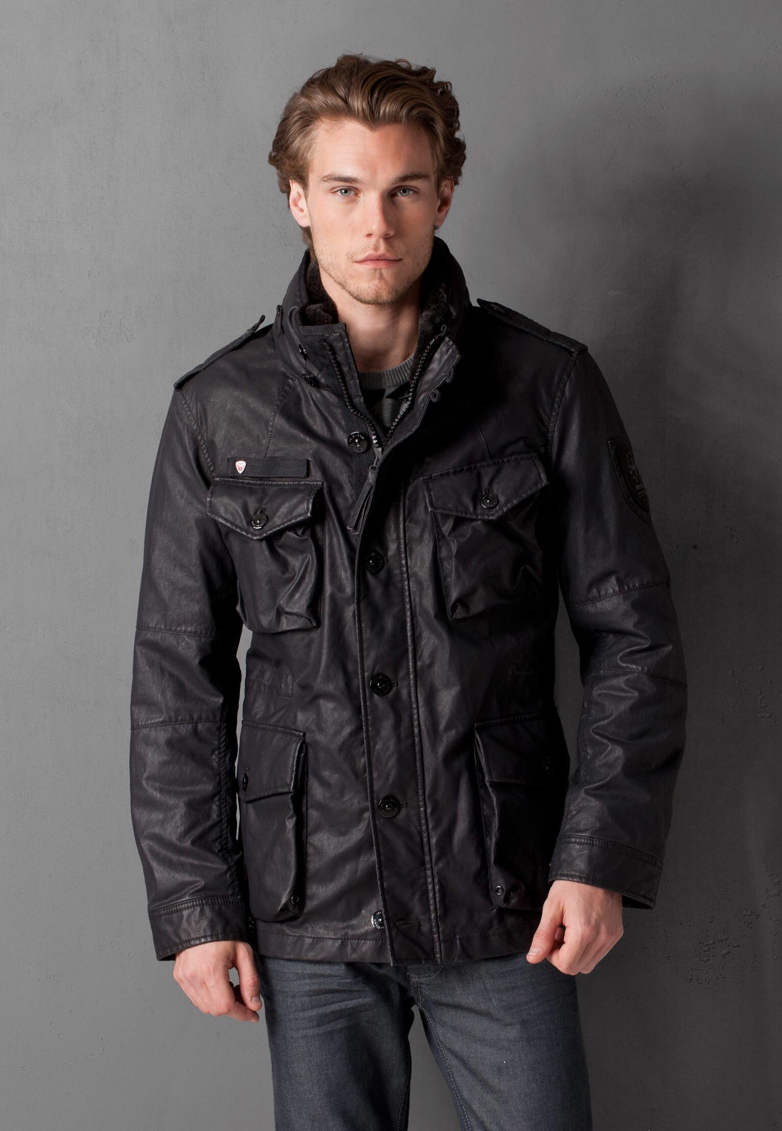 03576187e Strellson 'squad' field jacket. | Strellson | Mens fashion:__cat__ ...