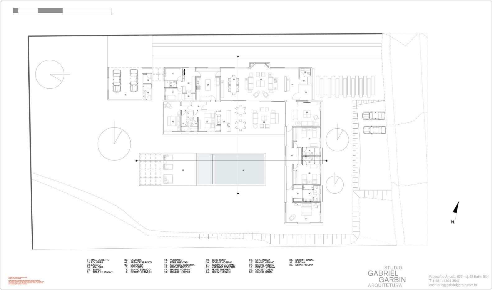 Galería de Casa TSJ 01 / Studio Gabriel Garbin Arquitectura - 13