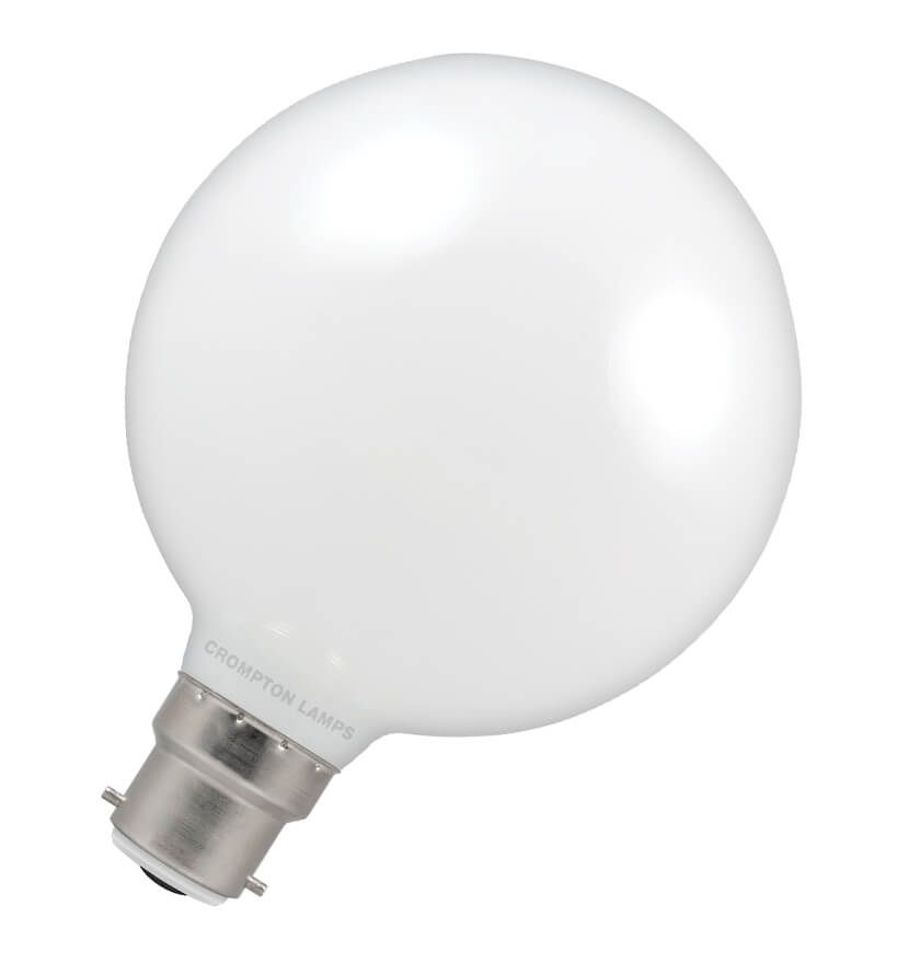 Warm White 95mm B22d Led Globe Lamp A Direct Replacement