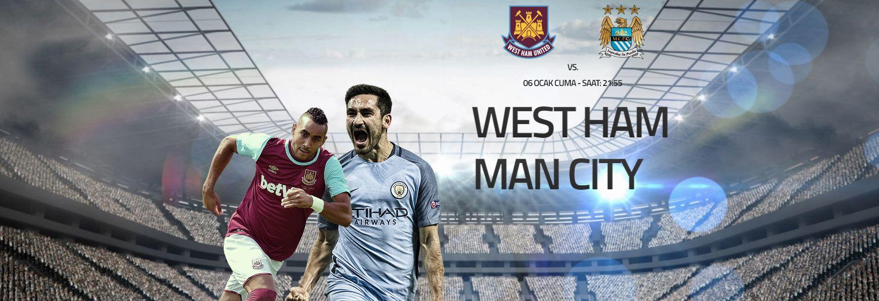 West Ham United – Manchester City İngiltere #FACup 3. turda tek maç eliminasyon sistemi ile oynanan maçlarda beraberlik olması ile avantaj deplasman takımın sahasına düşüyor. #WestHamUnited sahasında konuk edeceği #ManchesterCity'e karşı bu avantajı ile galibiyet arayacak. Bu zorlu mücadele'de #Enyüksekbahisoranları ve #Canlıbahis seçeneklerimiz #Betend'de sizlere. West Ham United (4,70) – Beraberlik (3,90) – Manchester City (1,60) Bugün: 22.55 http://betend60.com