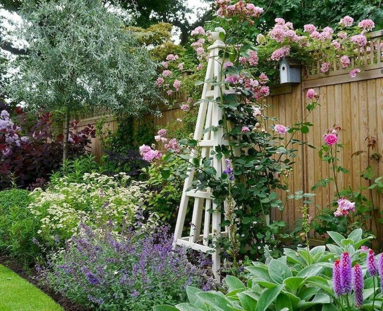 68 stunning front yard cottage garden inspiration ideas ...