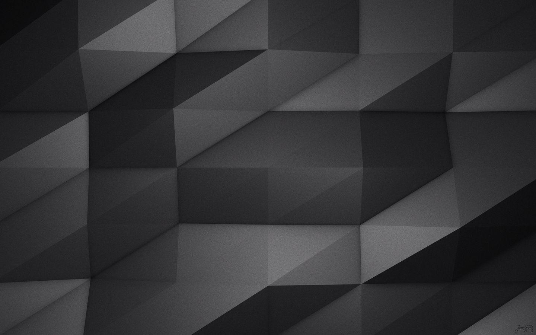 Modern Grey Geometric Wallpaper