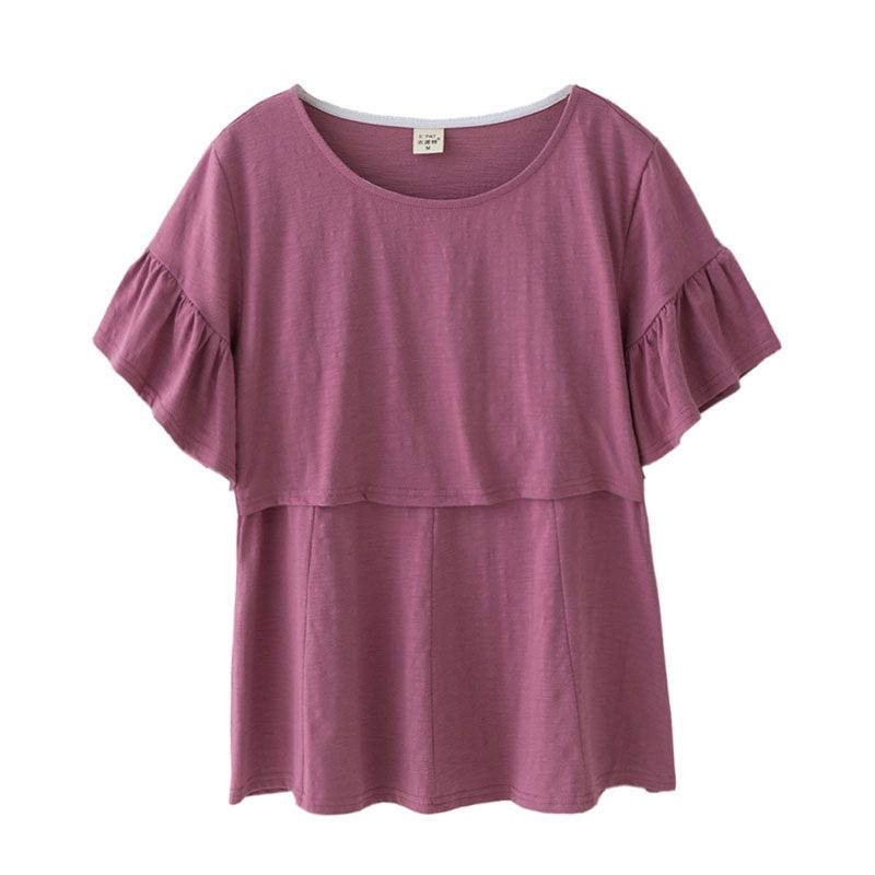 9b0935ad279 Cotton Pregnancy Clothes Maternity Clothing Maternity T-shirt Tops Nursing  Breastfeeding Clothes For Pregnant Women Tees Wear  Affiliate