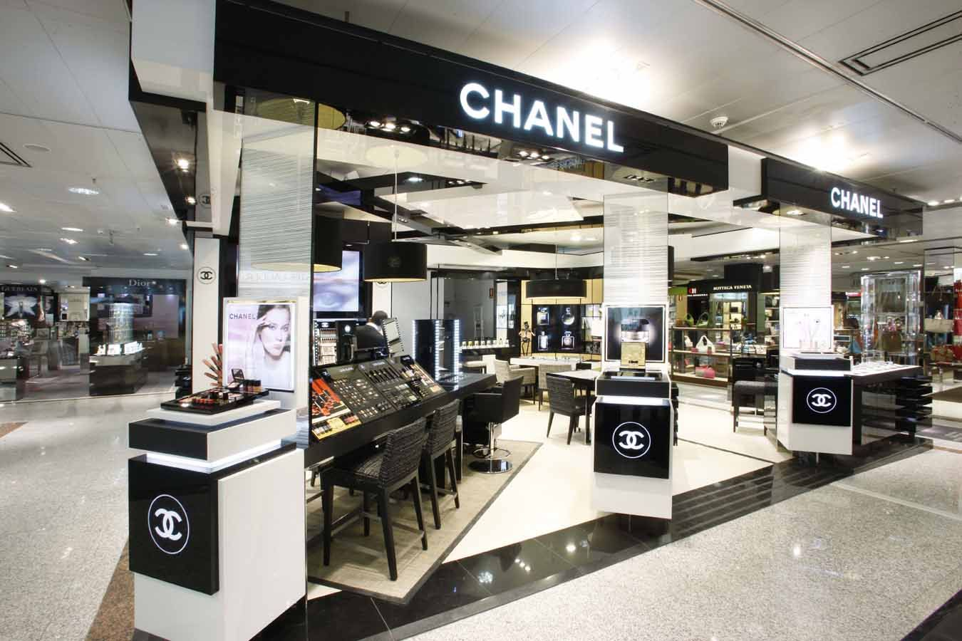Boutique de chanel dedicado a la alta perfumer a en el - Catalogo del corteingles ...