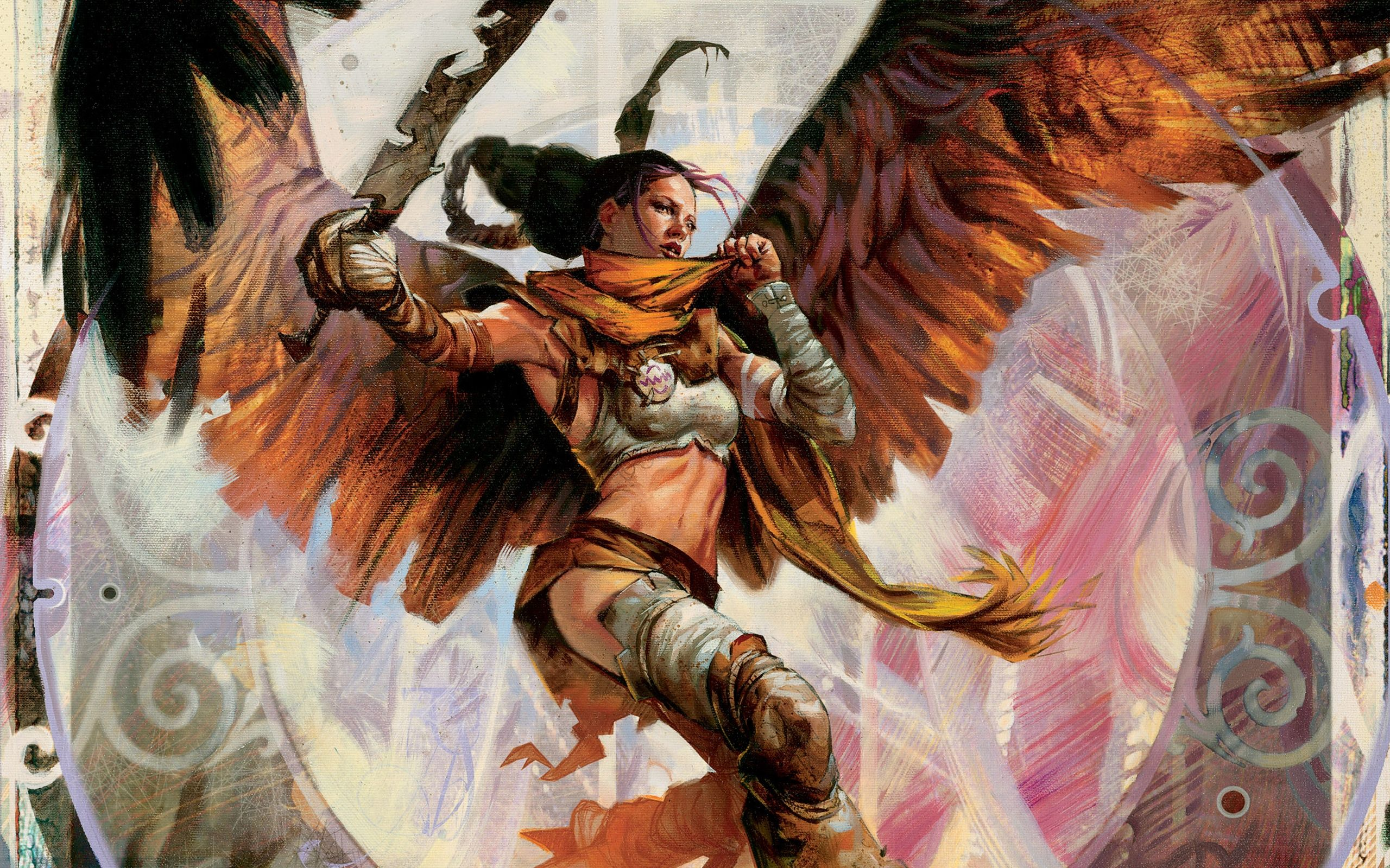Female Angel Warriors Fantasy Angel Warrior Serra Magic The