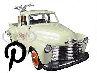 1950 Chevrolet 3100 Pick Up Truck Omaha Orange 1/25 Diecast Model by Maisto 1950 Chevrolet 3100 Pick Up Truck Omaha Orange 1/25 Diecast Model by Maisto