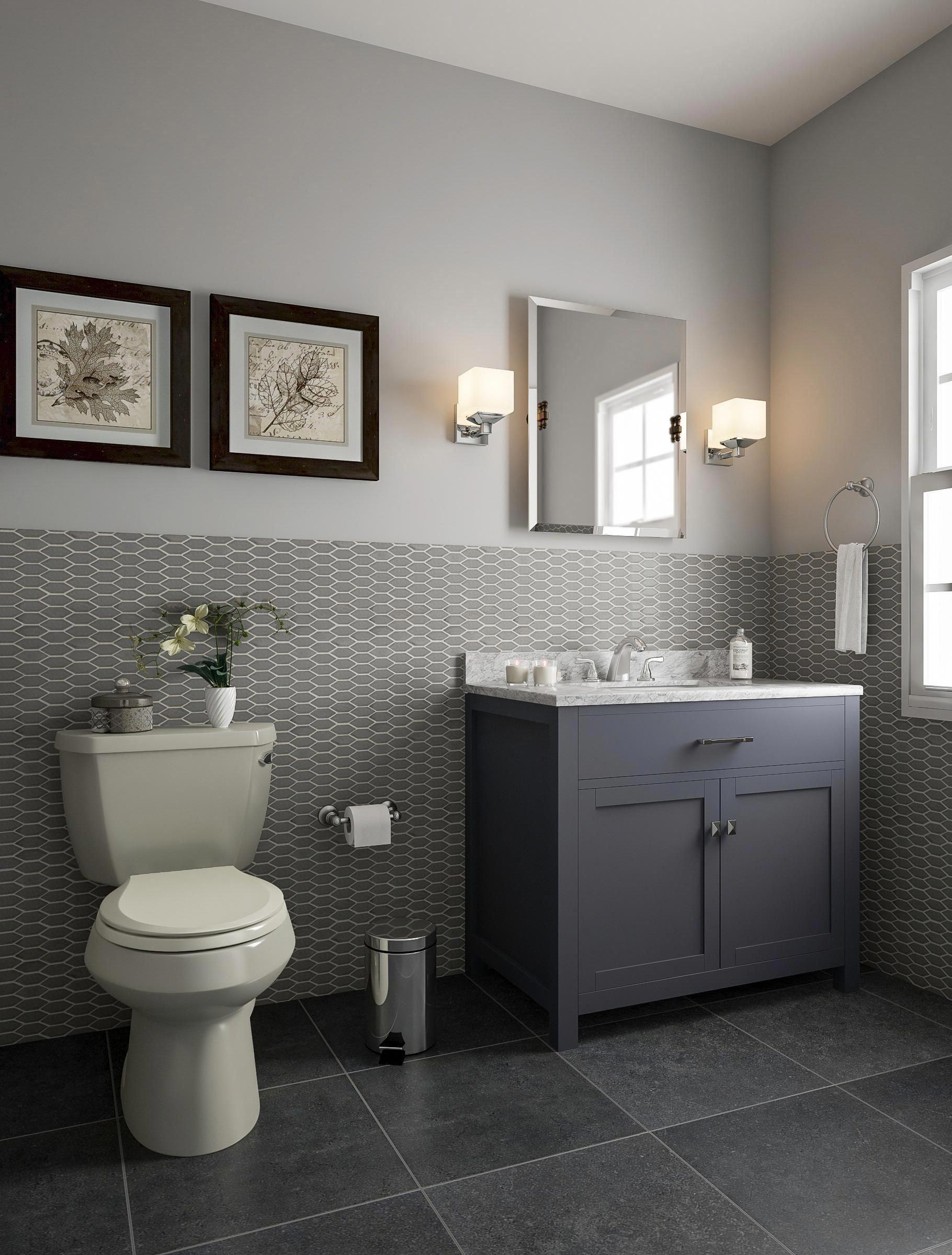 Girly Bathroom Decor Blue Bath Accessories Set Bathtub Design