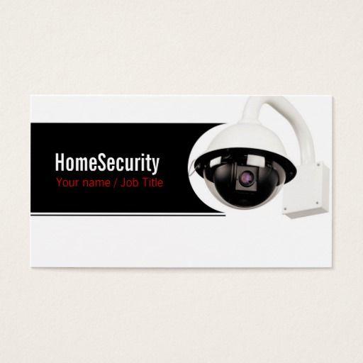 Security Company Business Card Zazzle Com Company Business Cards Security Companies Business Cards