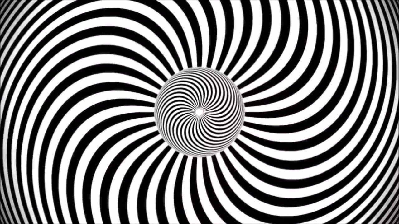 illusions optical trippy distorted eye things tricks move walls patterns words pattern