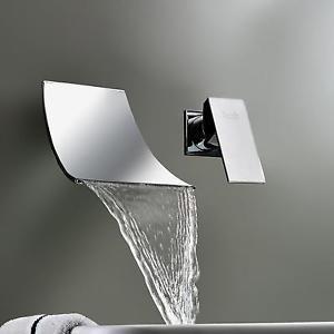 dtails sur mitigeur robinet lavabo vier mixer cascade laiton faucet cuisine salle de bain - Robinet Mitigeur Mural Salle De Bain