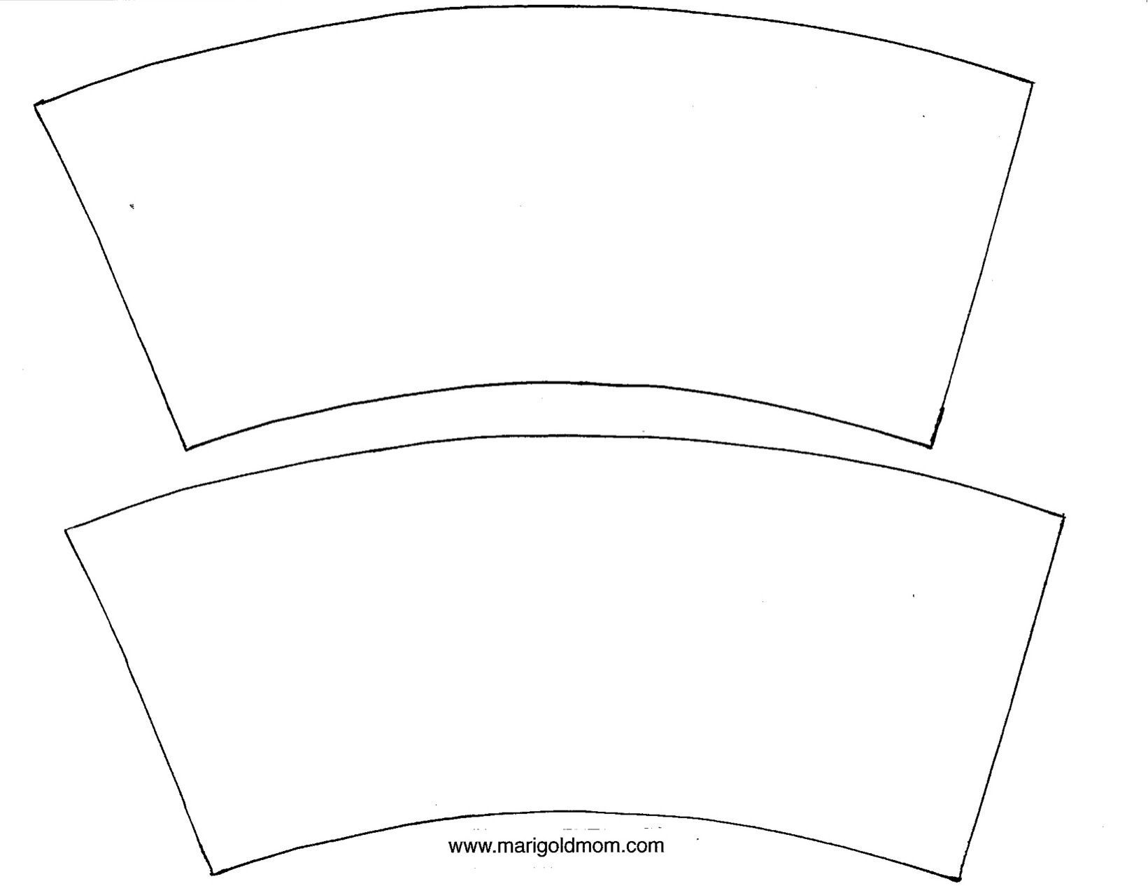 Free Custom Truncated Cone Templates From Templatemaker Nl Cone Mykinglist Com Mykinglist Com Coffee Cup Crafts Coffee Cozy Pattern Mini Coffee Cups