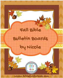 Nicole's Fall (and more) Bulletin Boards